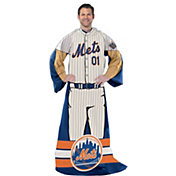 Northwest New York Mets Uniform Full Body Comfy Throw
