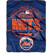 Northwest New York Mets Structure Micro Raschel Throw Blanket