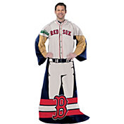 Northwest Boston Red Sox Uniform Full Body Comfy Throw