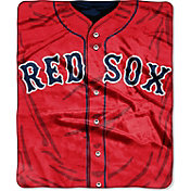 Northwest Boston Red Sox Jersey Raschel Throw Blanket