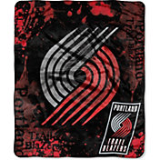 Northwest Portland Trail Blazers Dropdown Raschel Throw Blanket