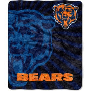 Northwest Chicago Bears Strobe Sherpa Throw