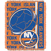 Northwest New York Islanders Double Play 48 in x 60 in Jacquard Woven Throw Blanket