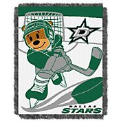 Northwest Dallas Stars Score Baby 36 in x 46 in Jacquard Woven Throw Blanket