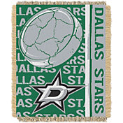 Northwest Dallas Stars Double Play 48 in x 60 in Jacquard Woven Throw Blanket