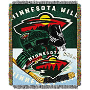 Northwest Minnesota Wild 48 in x 60 in Home Ice Advantage Tapestry Throw Blanket