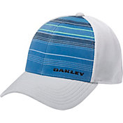Oakley Men's Silicon Bark Trucker 2.0 Print Golf Hat