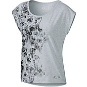 Oakley Women's Grace Off-The-Shoulder Training T-Shirt