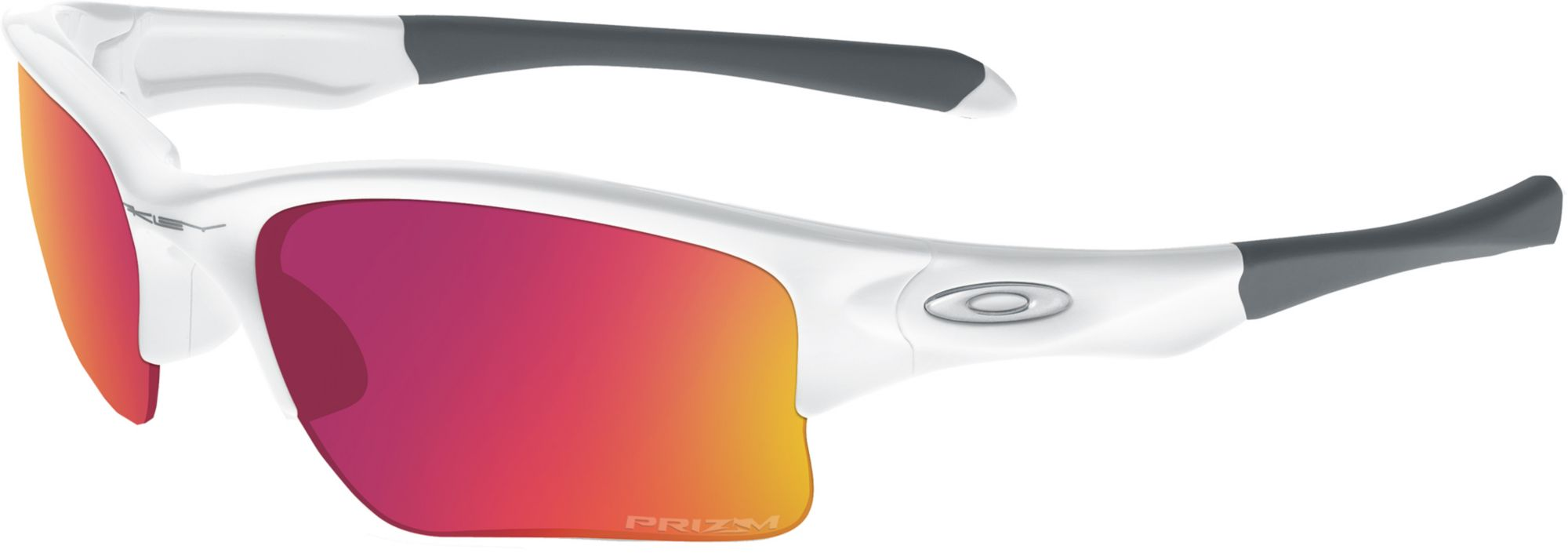 oakley prizm baseball flak jacket xlj sunglasses  product image oakley kids' prizm baseball quarter jacket sunglasses