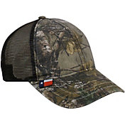 Realtree Men's Texas Flag Camo Mesh Back Hat