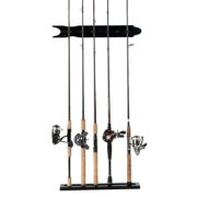 Organized Fishing Hardwood Veneer Modular Wall Rack