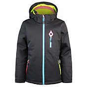 Boulder Gear Girls' Quirky Tech Insulated Jacket