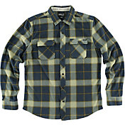 O'Neill Men's Superfleece Glacier Flannel Long Sleeve Shirt