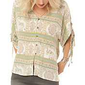 O'Neill Women's Bex Woven Sleeved Top