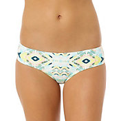 O'Neill Women's Cabo Shirred Back Hipster Bikini Bottoms