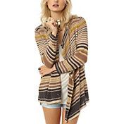 O'Neill Women's Isla Striped Cardigan Sweater