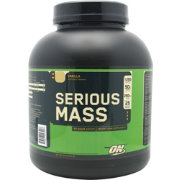 Optimum Nutrition Serious Mass Protein Powder Vanilla 6 lbs