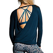 Onzie Women's Drapey V-Back Long Sleeve Shirt