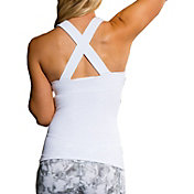 Onzie Women's Long X Back Tank Top