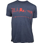 OutlineTheSky Men's Cleveland Skyline T-Shirt