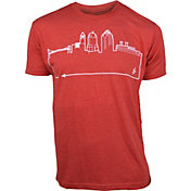 OutlineTheSky Men's Cincinnati Skyline T-Shirt