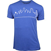 OutlineTheSky Men's Dallas Skyline T-Shirt