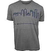 OutlineTheSky Men's Detroit Skyline T-Shirt