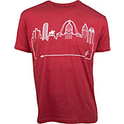 OutlineTheSky Men's St. Louis Skyline T-Shirt