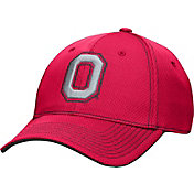 OSU Men's Ohio State Buckeyes Scarlet Pinpoint Structured Flex Hat