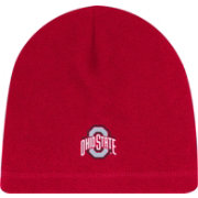 OSU Men's Ohio State Buckeyes Scarlet Spirit Skully Fleece Beanie