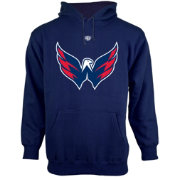 Old Time Hockey Men's Washington Capitals Big Logo Pullover Hoodie