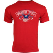 Old Time Hockey Youth Washington Capitals Red Tov T-Shirt