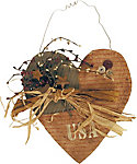 Ohio Wholesale The Heart of the USA Wall Hanging