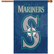 Party Animal Seattle Mariners Applique Banner Flag