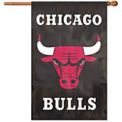 Party Animal Chicago Bulls Applique Banner Flag