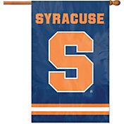 Party Animal Syracuse Orange Applique Banner Flag