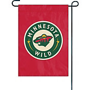 Party Animal Minnesota Wild Garden/Window Flag