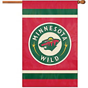 Party Animal Minnesota Wild Applique Banner Flag