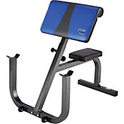 Pure Fitness Preacher Curl Bench
