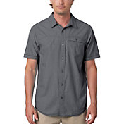 prAna Men's Patras Button Up Short Sleeve Shirt