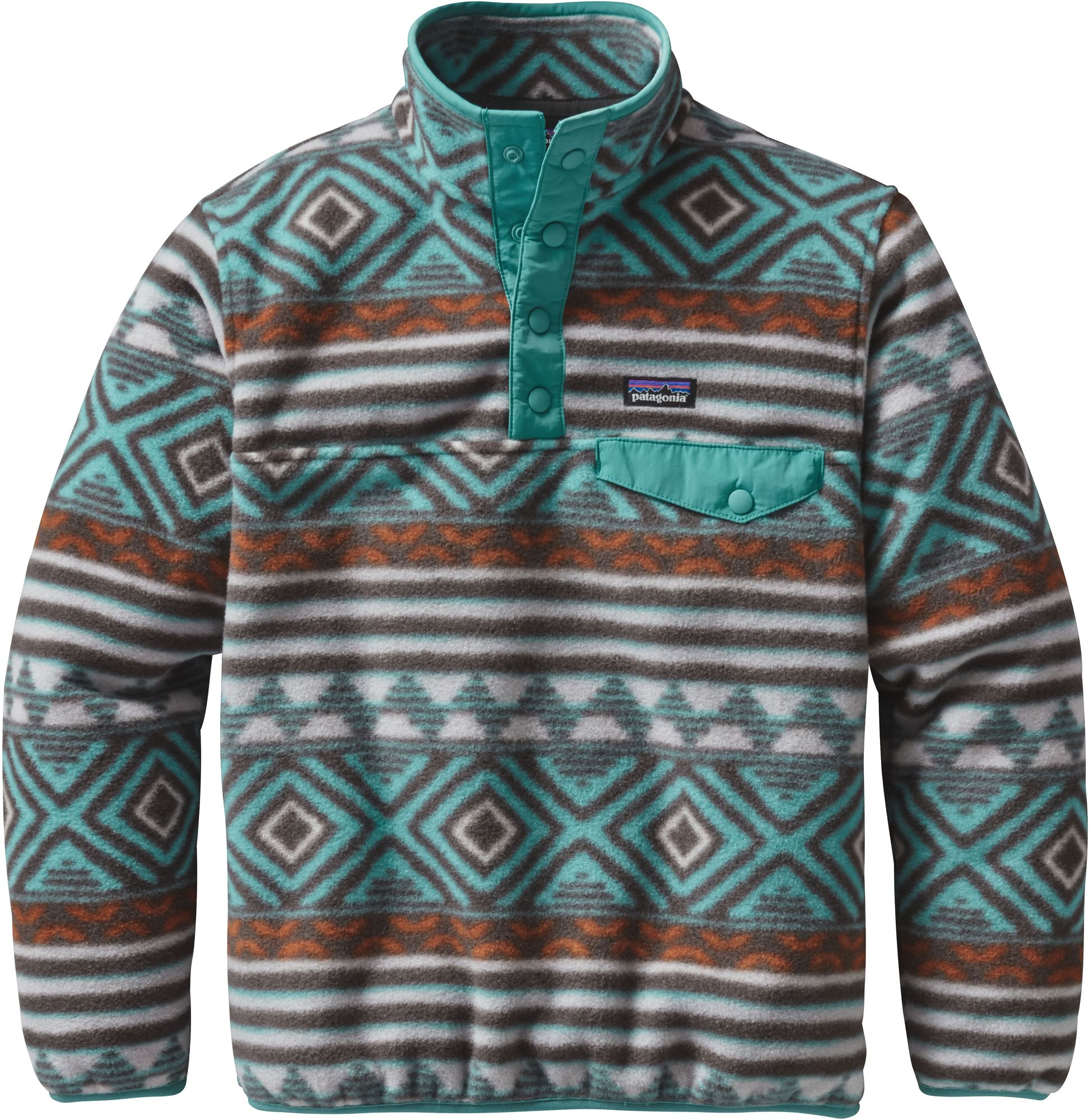 Patagonia Boys Lightweight Synchilla Snap T Pullover DICKS Sporting Goods