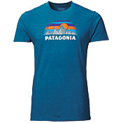 Patagonia Men's Woven Fitz Roy T-Shirt