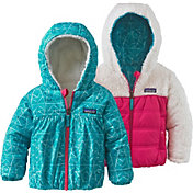 Patagonia Girls' Toddler Reversible Honey Puff Hoodie