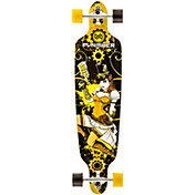 "Punisher Skateboards 40"" Steamphunk Longboard"