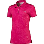 PUMA Girls' Bloom Golf Polo