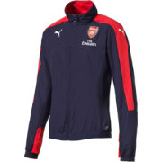 PUMA Men's Arsenal Navy Long Sleeve Stadium Jacket