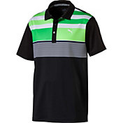 PUMA Men's Road Map Asym Golf Polo