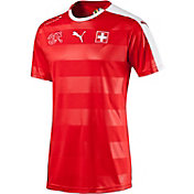 PUMA Men's Switzerland Replica Home Jersey