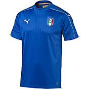 PUMA Men's Euro 2016 Italy Replica Home Jersey