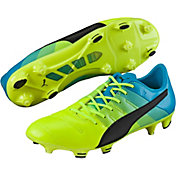 PUMA Men's evoPOWER 1.3 Leather FG Soccer Cleats